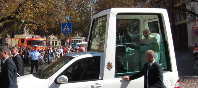 Papstbesuch in Freiburg 2011