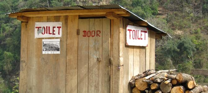 """Nepal – """"Toilets"""" of  Nepal"""