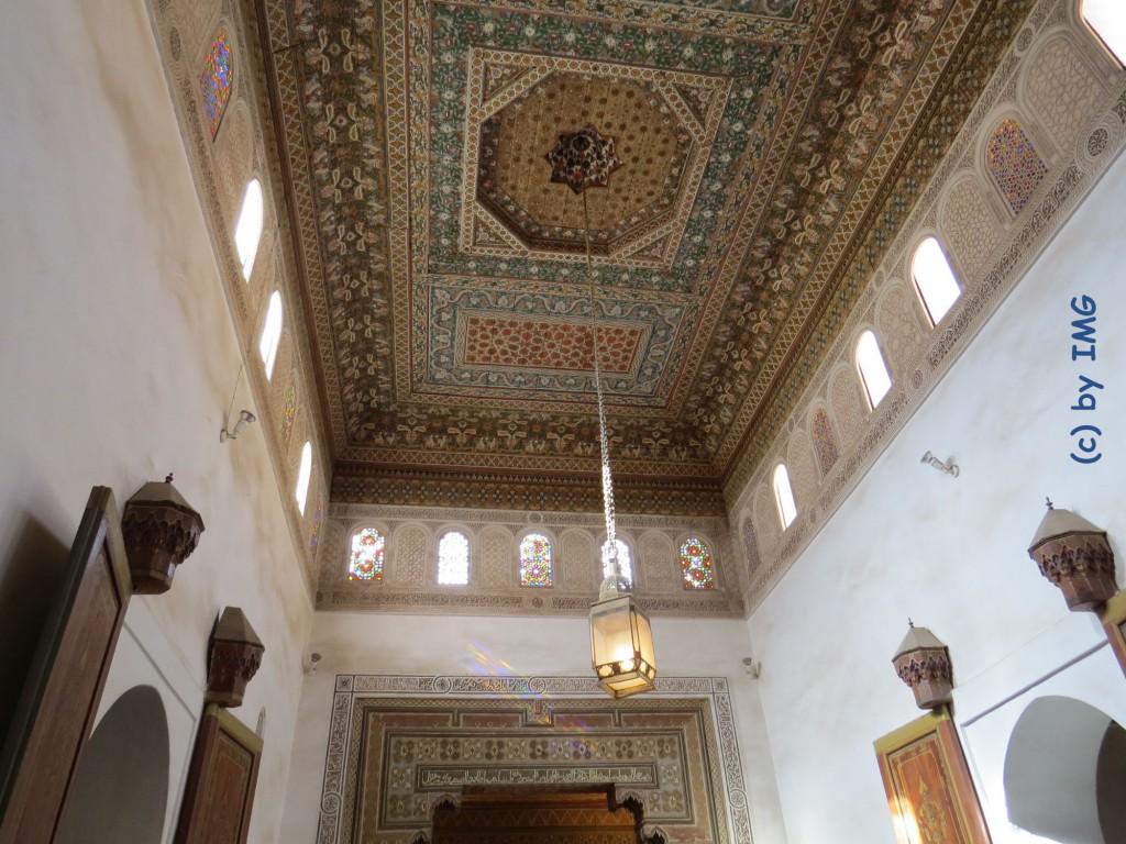 bahia palast marokko marrakesch