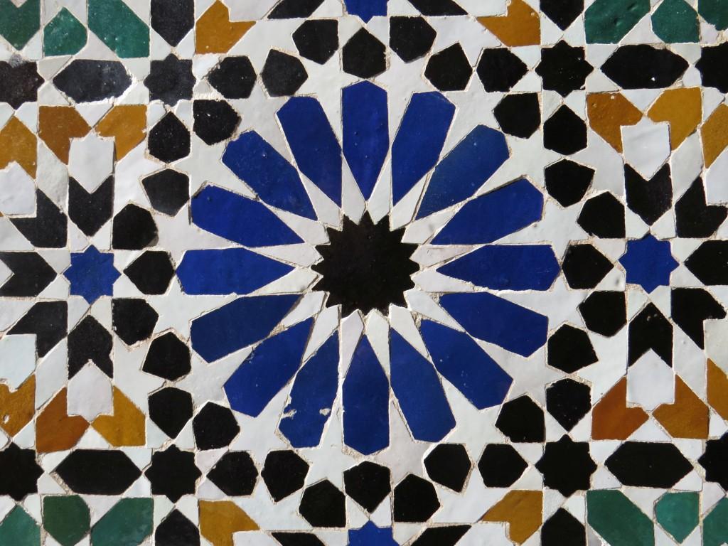 bahia palast mosaik fliesen