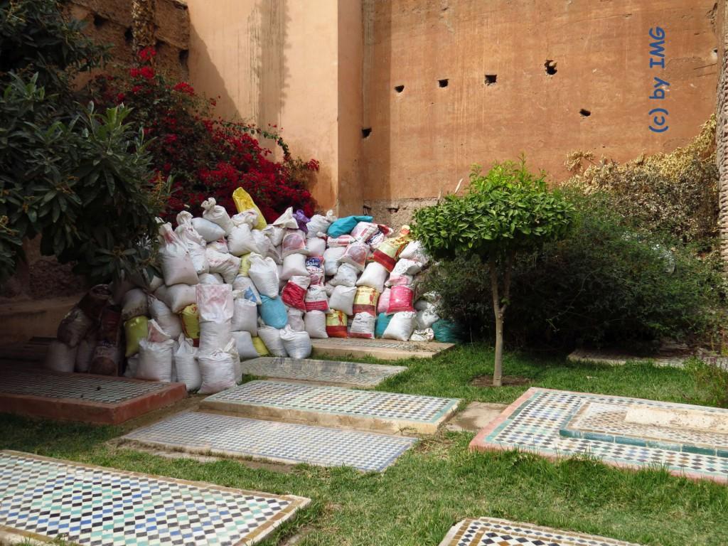 Marrakesch Saadier Gräber Mosaik
