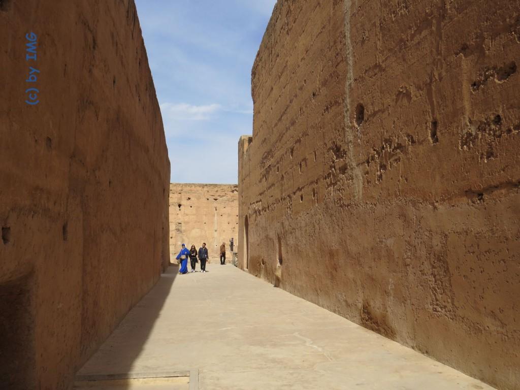 El Badi Palast Marrakesch Marokko