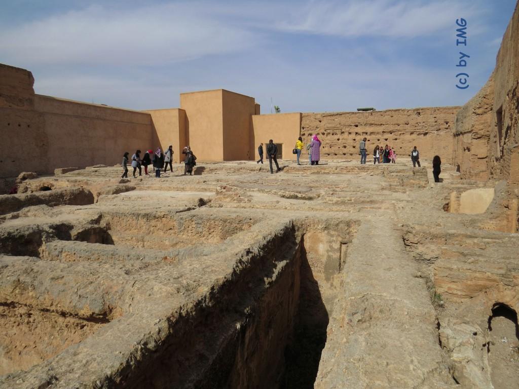 Marokko Marrakesch El Badi