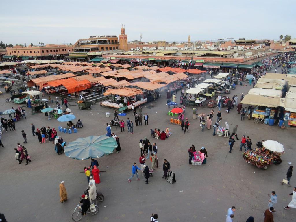 Marrakesch Djemaa El Fna Patz