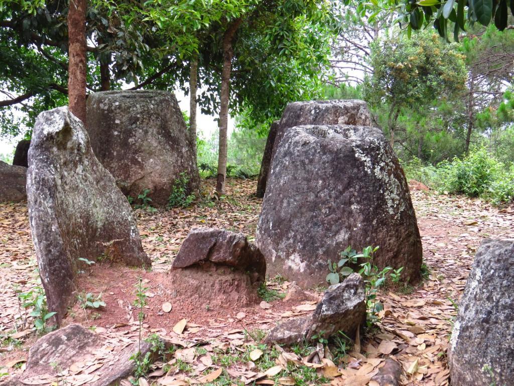 Laos Phonsavan Plain of Jar