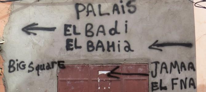 Marrokko – Citytrip nach Marrakesch – Paläste und Gräber