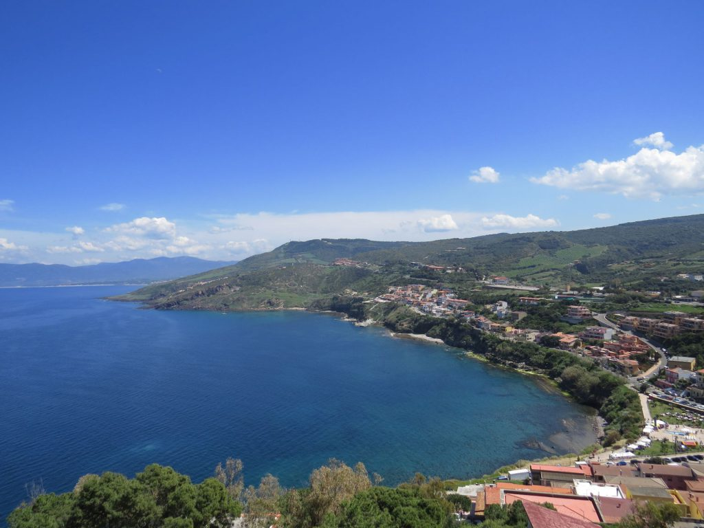 Castelsardo Sardinien Meerblick
