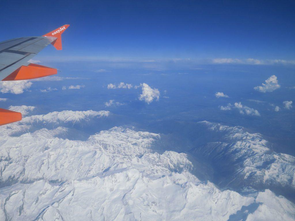 Easyjet Alpenblick