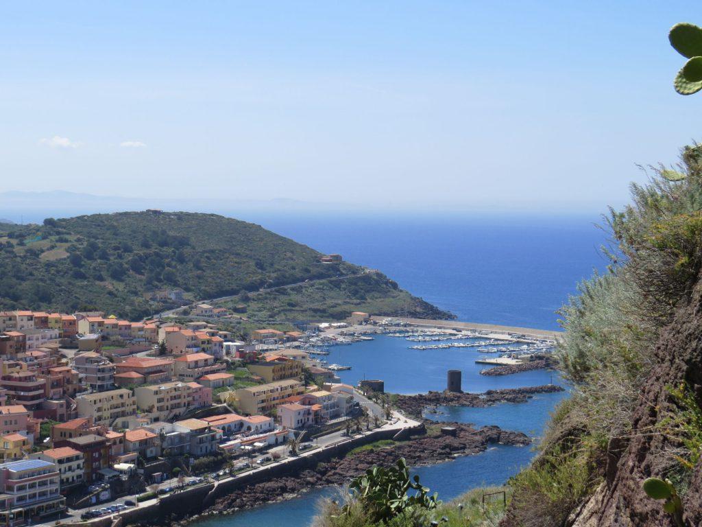 Sardinien Castelsardo Ausblick