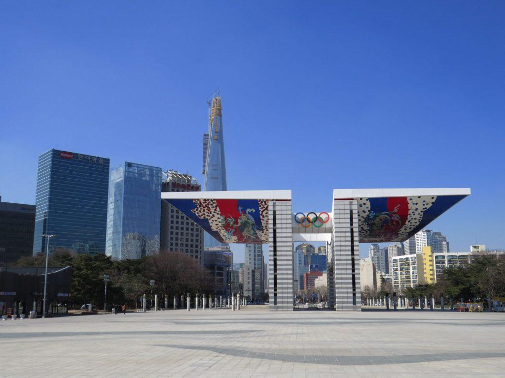 Seoul Olympiapark Friedenstor