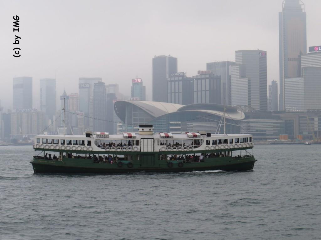 Hong Kong Star Ferry Hafen Skyline