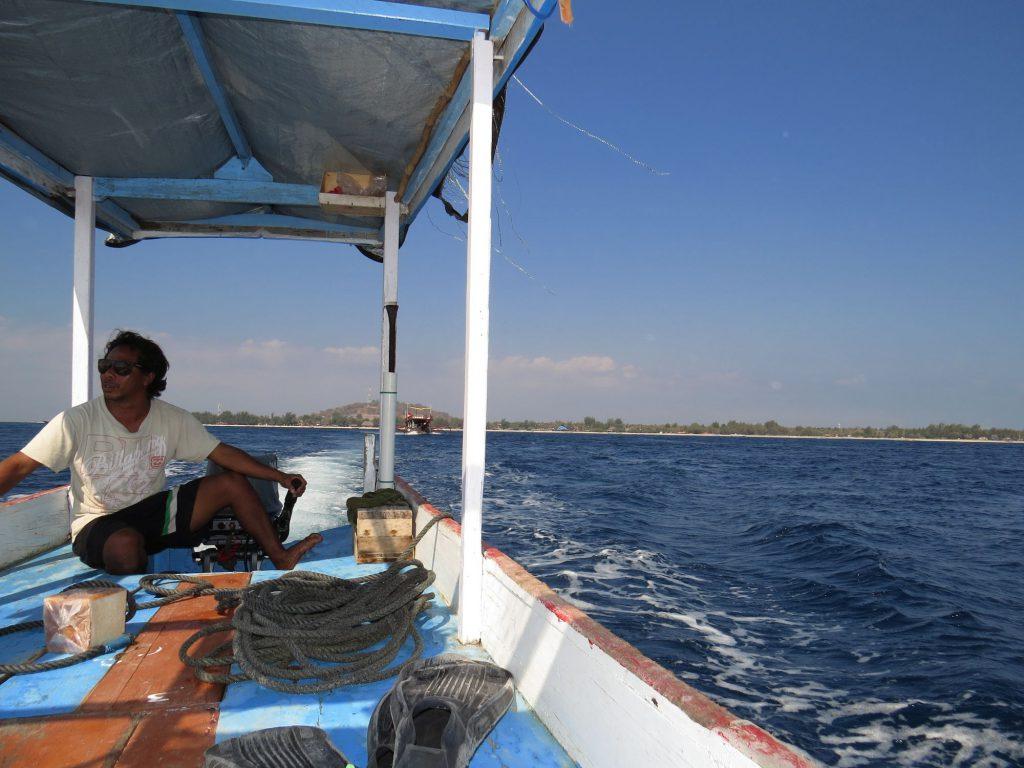 Boat Gili Trawangan