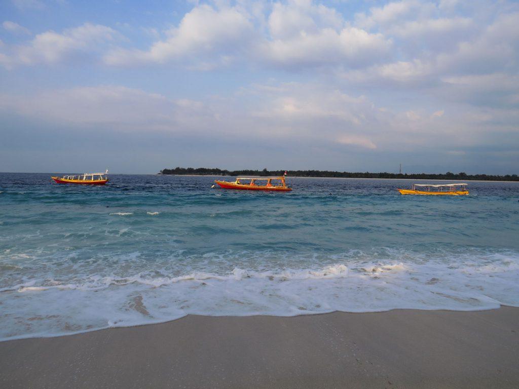 Boats Gili Trawangan
