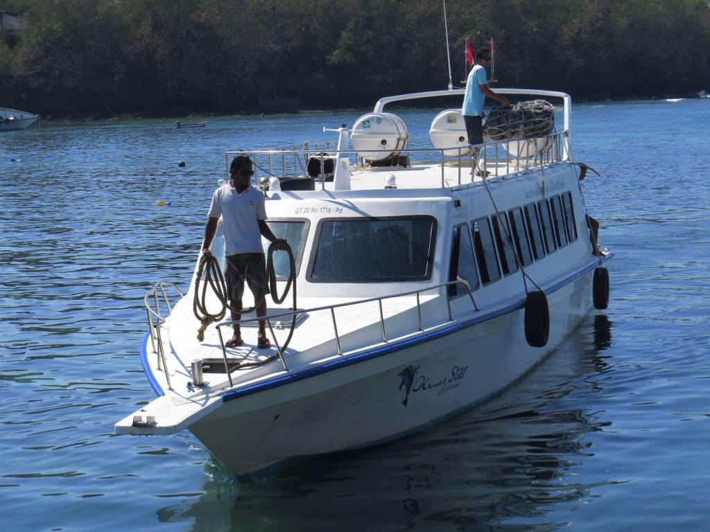 Ferry to Gili Trawangan
