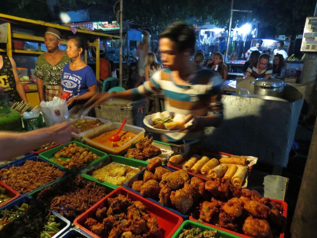 Food Night Market Gili Trawangan