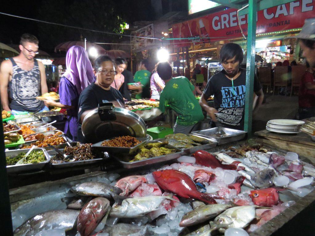 Night Market Food Gili Trawangan