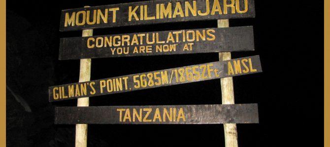 Letzte Etappe – vom Kibo Hut zum Gipfel des Kilimadscharos
