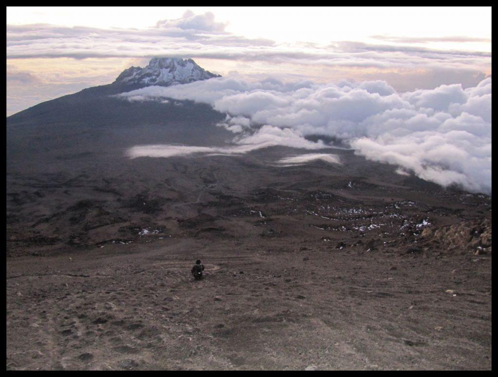 Kilimandscharo Kibo Gilmans Point Kilimanjar