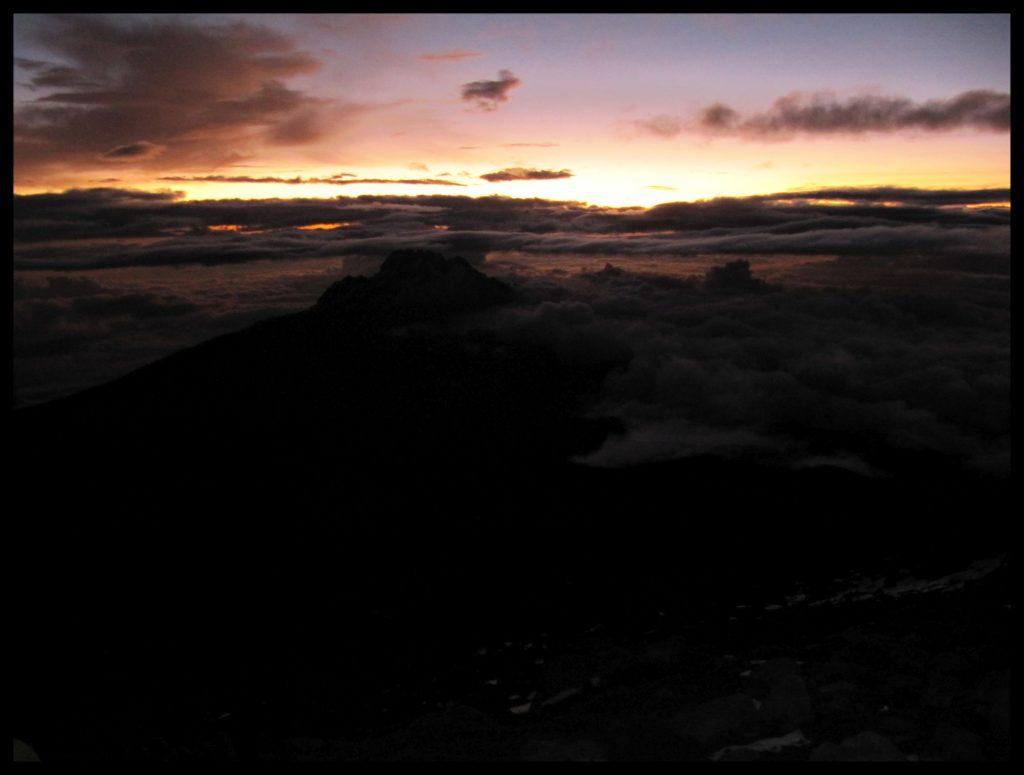 Kilimandscharo Kibo Gilmans Point Kilimanjaro Gipfel