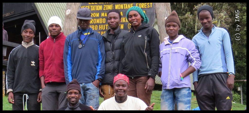 Kilimanjaro Team Guide Cook Porter
