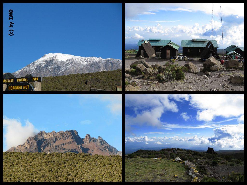 Kilimandscharo Kilimanjaro Horombo Hut