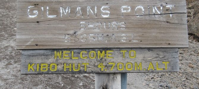 Kilimandscharo – Die letzte Tagesetappe vom Horombo Hut zum Kibo Hut