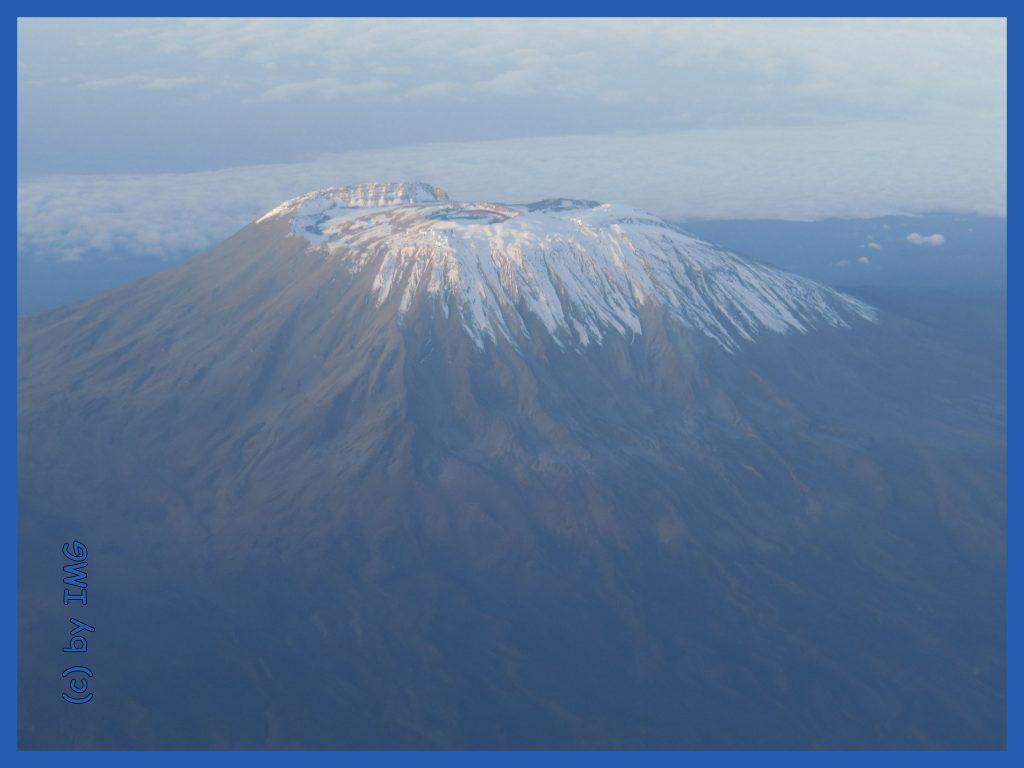 Kilimandscharo Kilimanjaro Schnee Tanzania Tansania Afrika