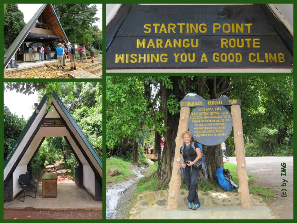 Kilimajaru Marangu Gate Tanzania