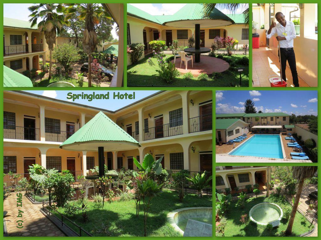 Springland Hotel Tansania Moshi Kilimandscharo