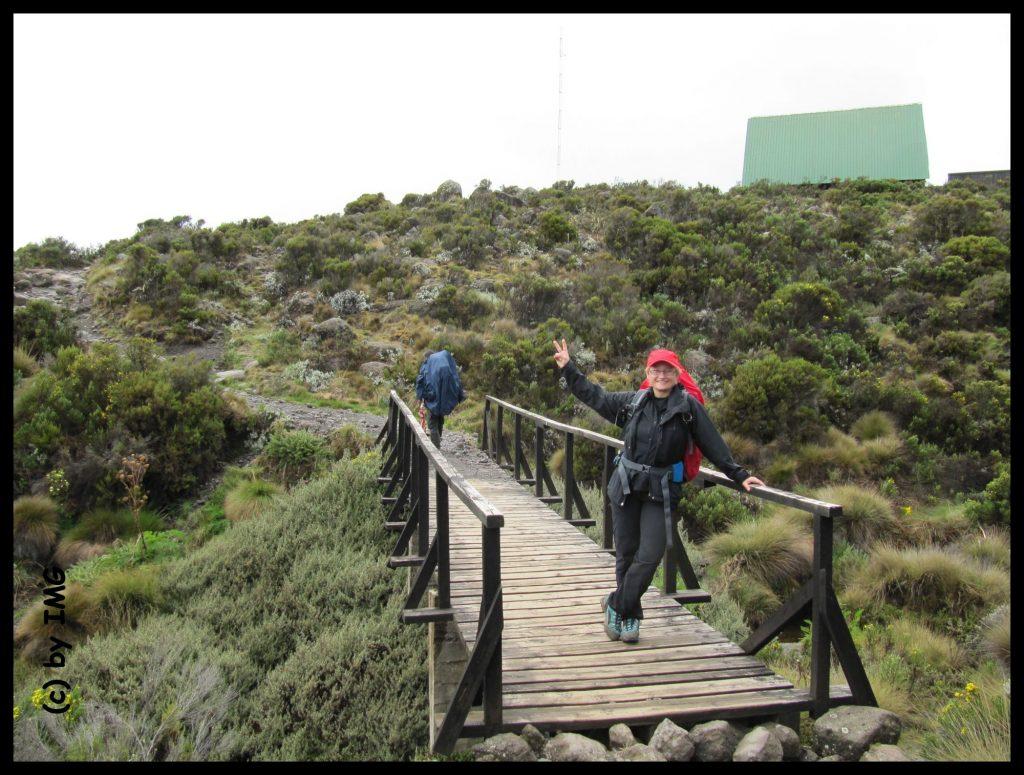 Hormobo Hut Kilimandscharo Trekking Tansania