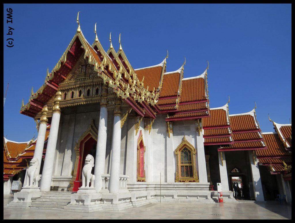 Wat Ben Marmortempel Bangkok Thailand