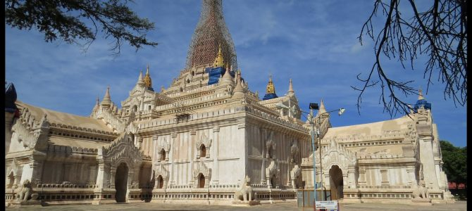 Neuer Glanz – Ananda Tempel Bagan