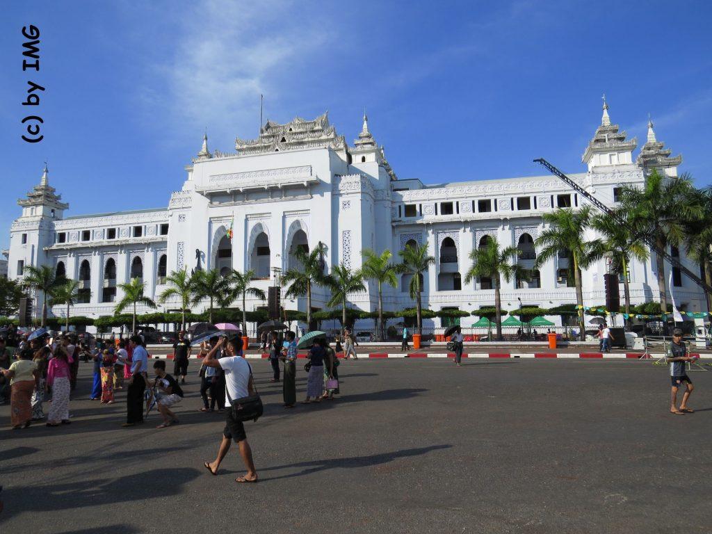 Yangon Myanmar Kolonialbau