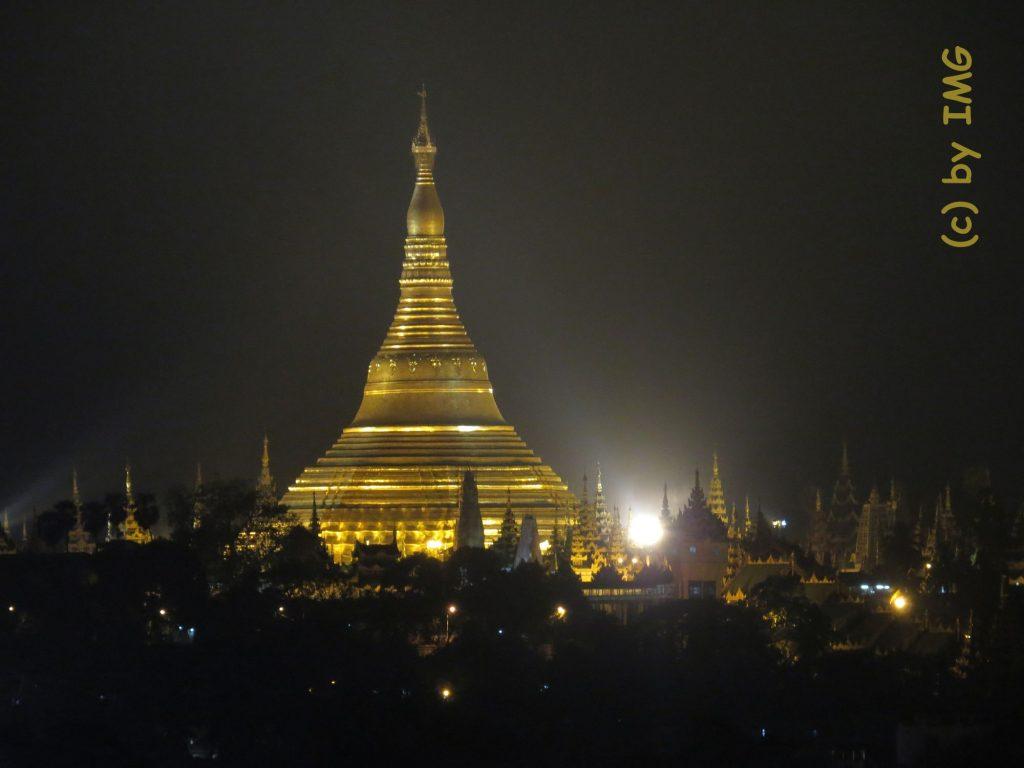 Liegender Buddha Yangon Chauk Htat Gyi Pagoda