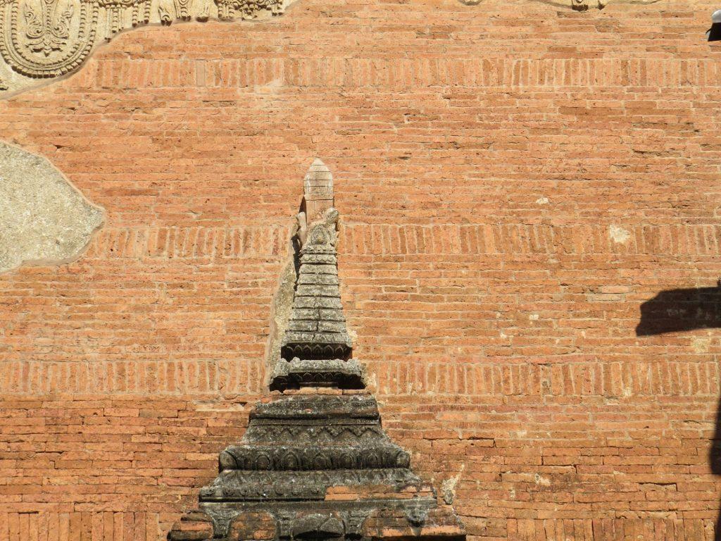 erdbebensicher Mauerwerk Htlilominlo Bagan Myanmar