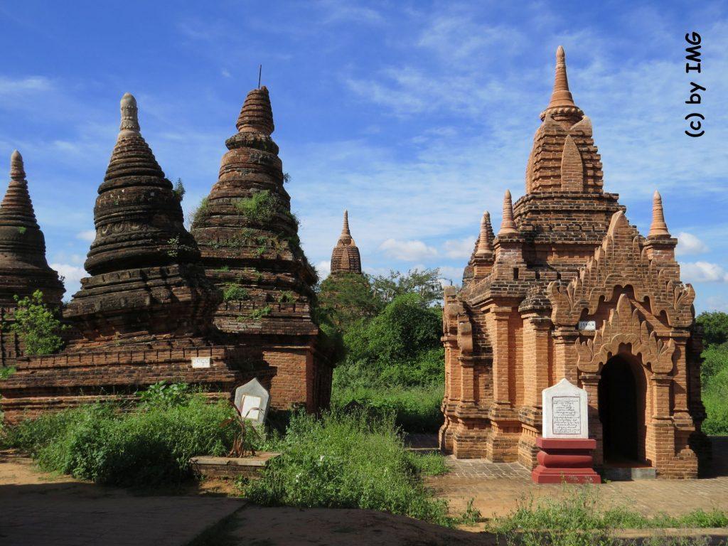 Bagan Tempel Erdbeben Pagode Myanmar