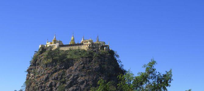 Mount Popa die 3. oder die Affen sind los