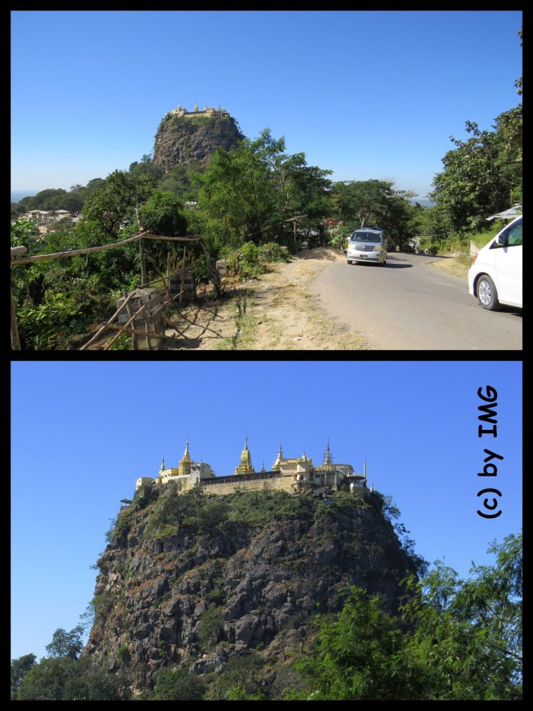 Mount Popa Myanmar Bagan Burma