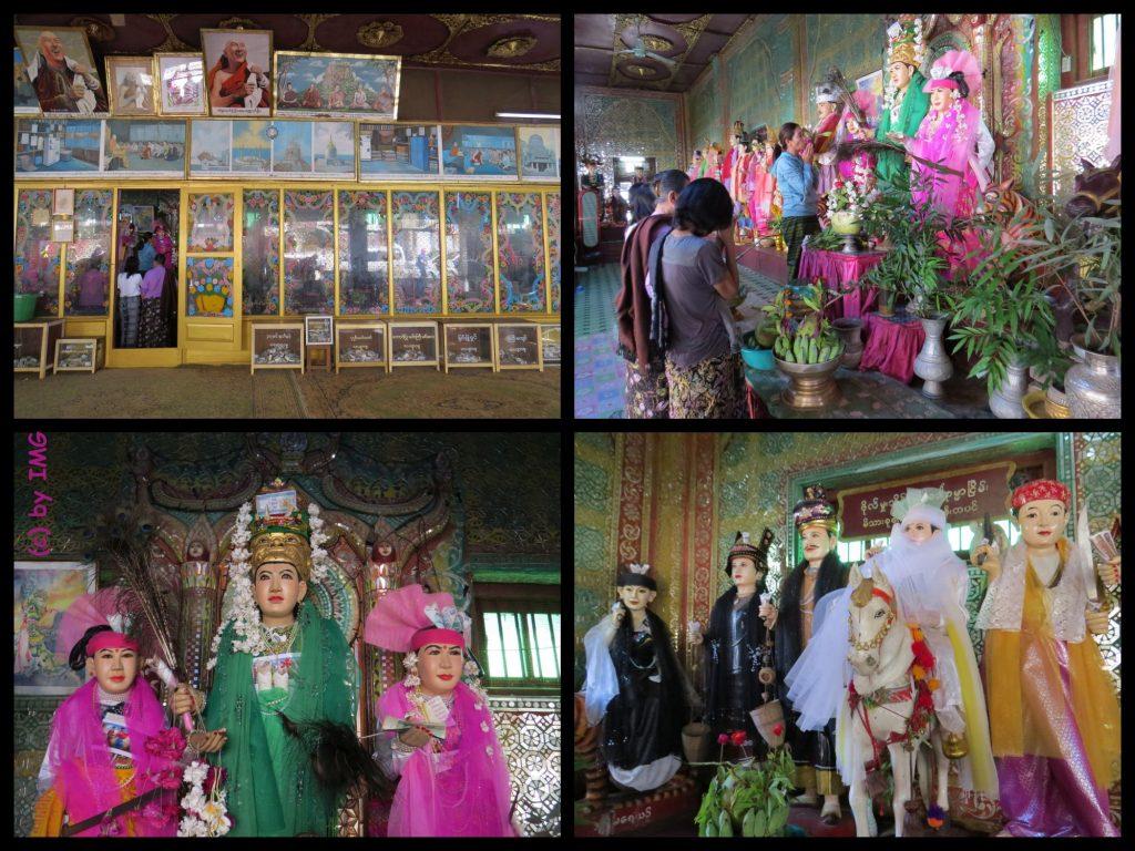 Mount Popa Myanmar Bagan Nat Nats Burma