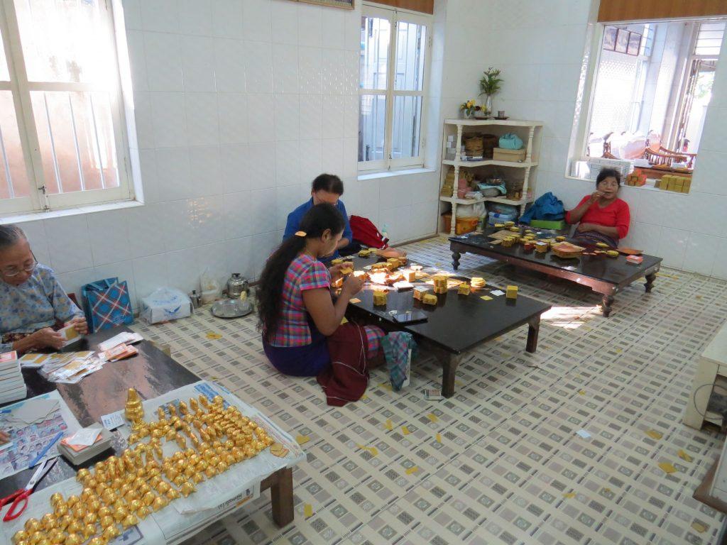 Mandalay, Goldschläger, Myanmar