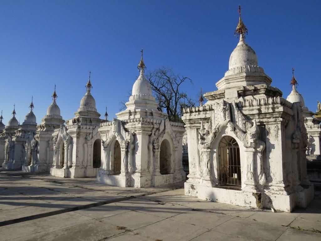 Kuthodaw, Mandalay, Myanmar, Pagode