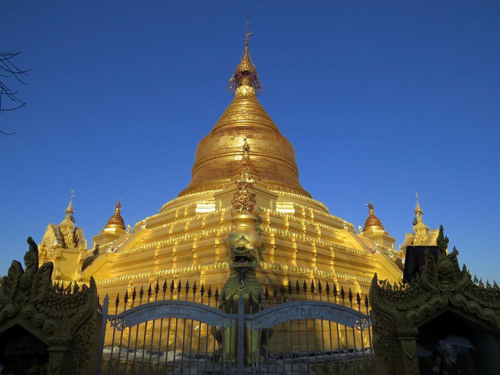 Pagode, Myanmar, Mandalay