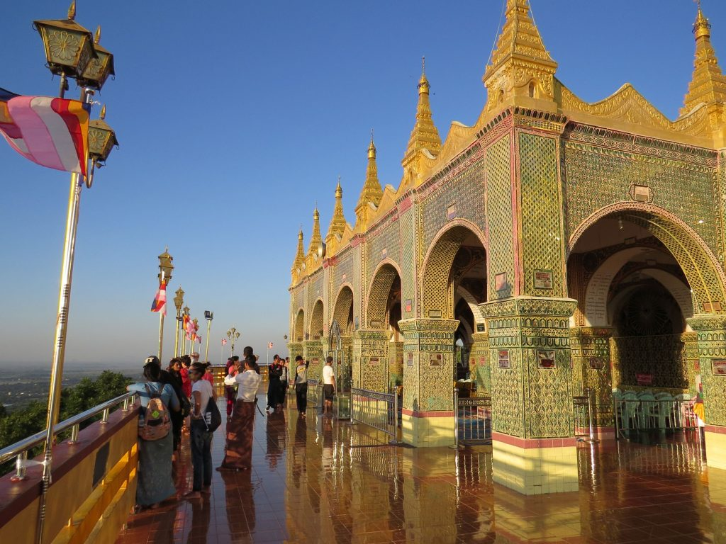 Sunset, Mandalay, Myanmar, Mandalay Hill