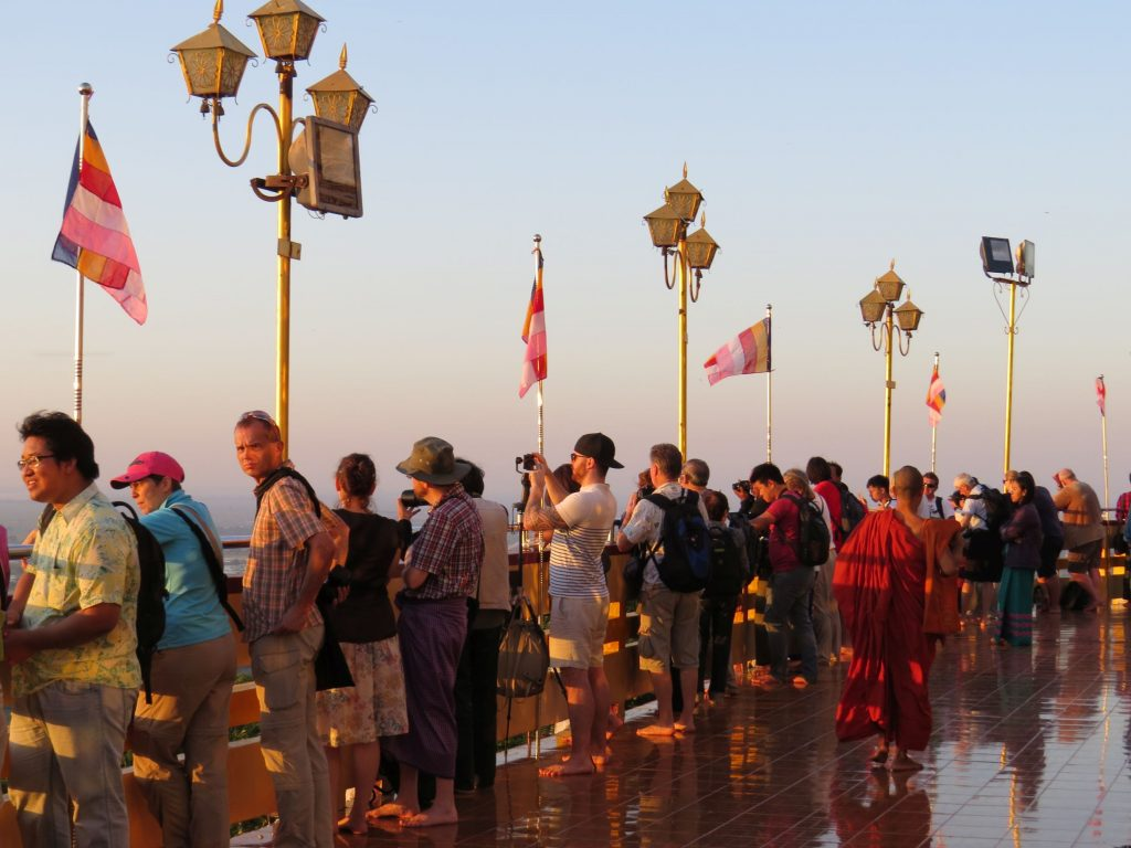 Sunset, Mandalay Hill, Ausblick
