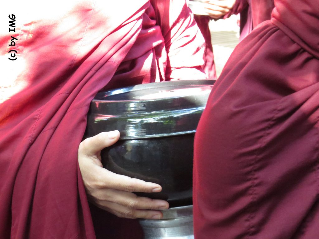 Mönche Myanmar Amaraprua