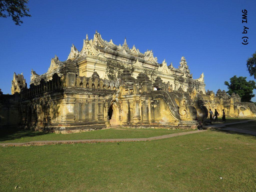 Pferdekutsche Insel Inwa Awa Myanmar