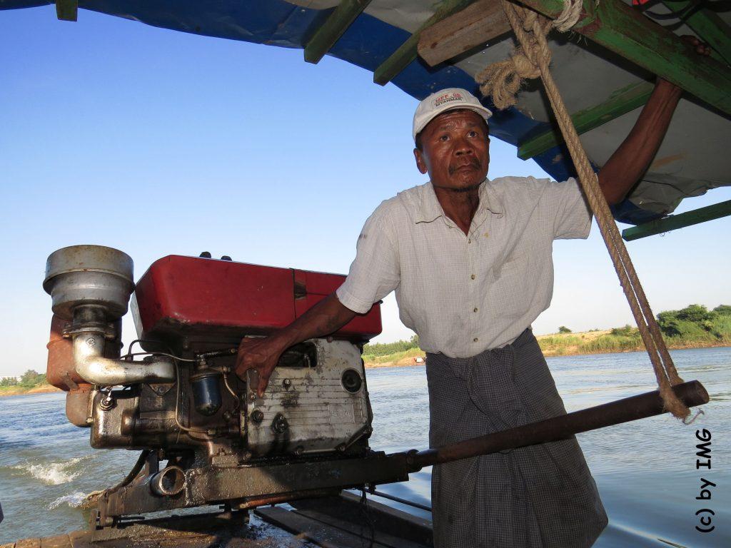 Insel inwa Awa Myanmar