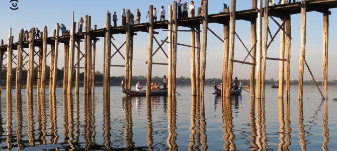 Amarapura, Insel Inwa und Sunset an der U-Bein Brücke